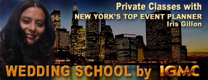 WEDDING SCHOOL PRIVATE WITH CLASSES NEW YORK'S TOP EVENT PLANNER